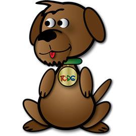 studio dog mascot