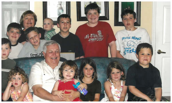 """<p style=""""font-size: 16px;"""">With 15 grand kids - there is a whole lot of story telling going on!</p>"""
